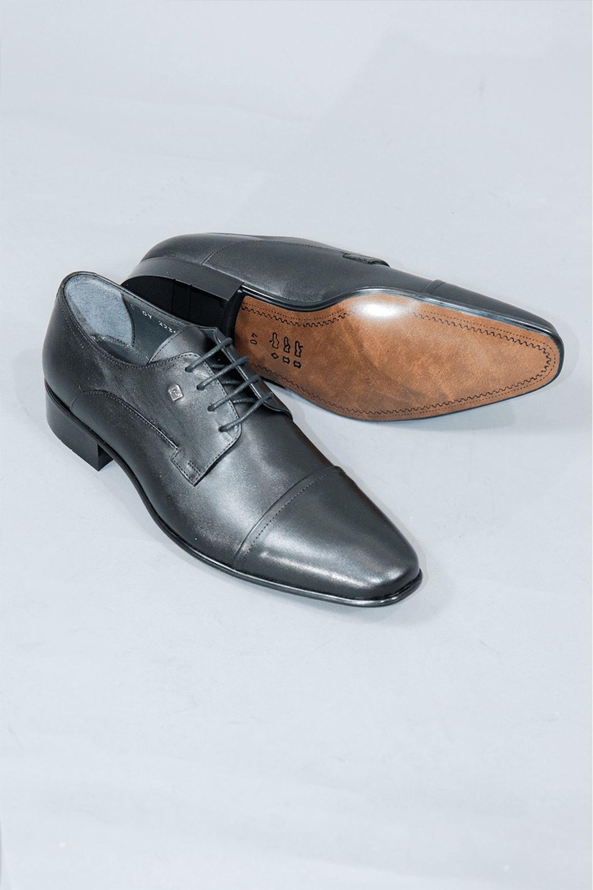Fosco - 2239-4 Mr Klasik Enjoy  Mat Deri Ayakkabı