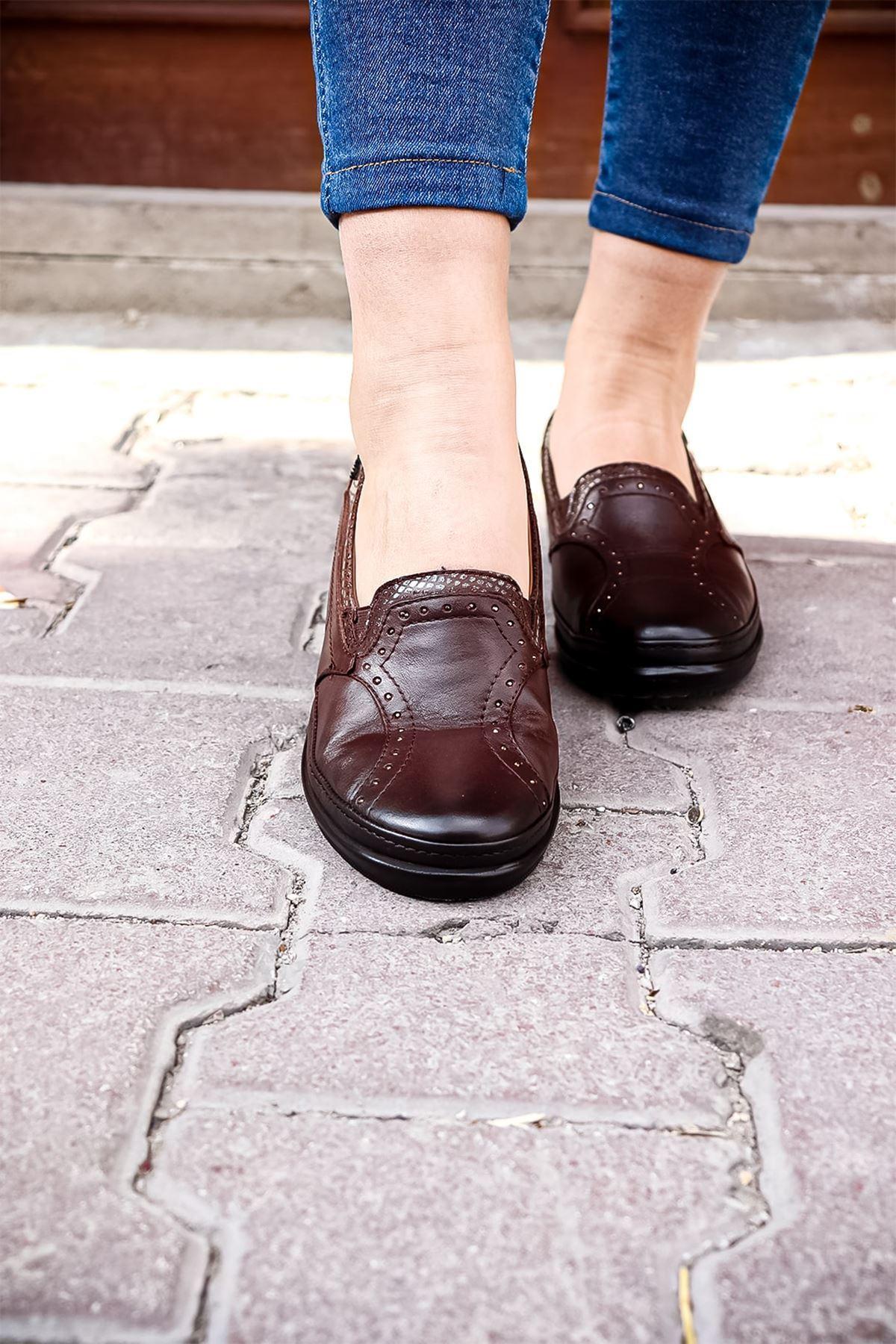 Forelli - 26239 Taba Ortopedik Kadın Ayakkabısı