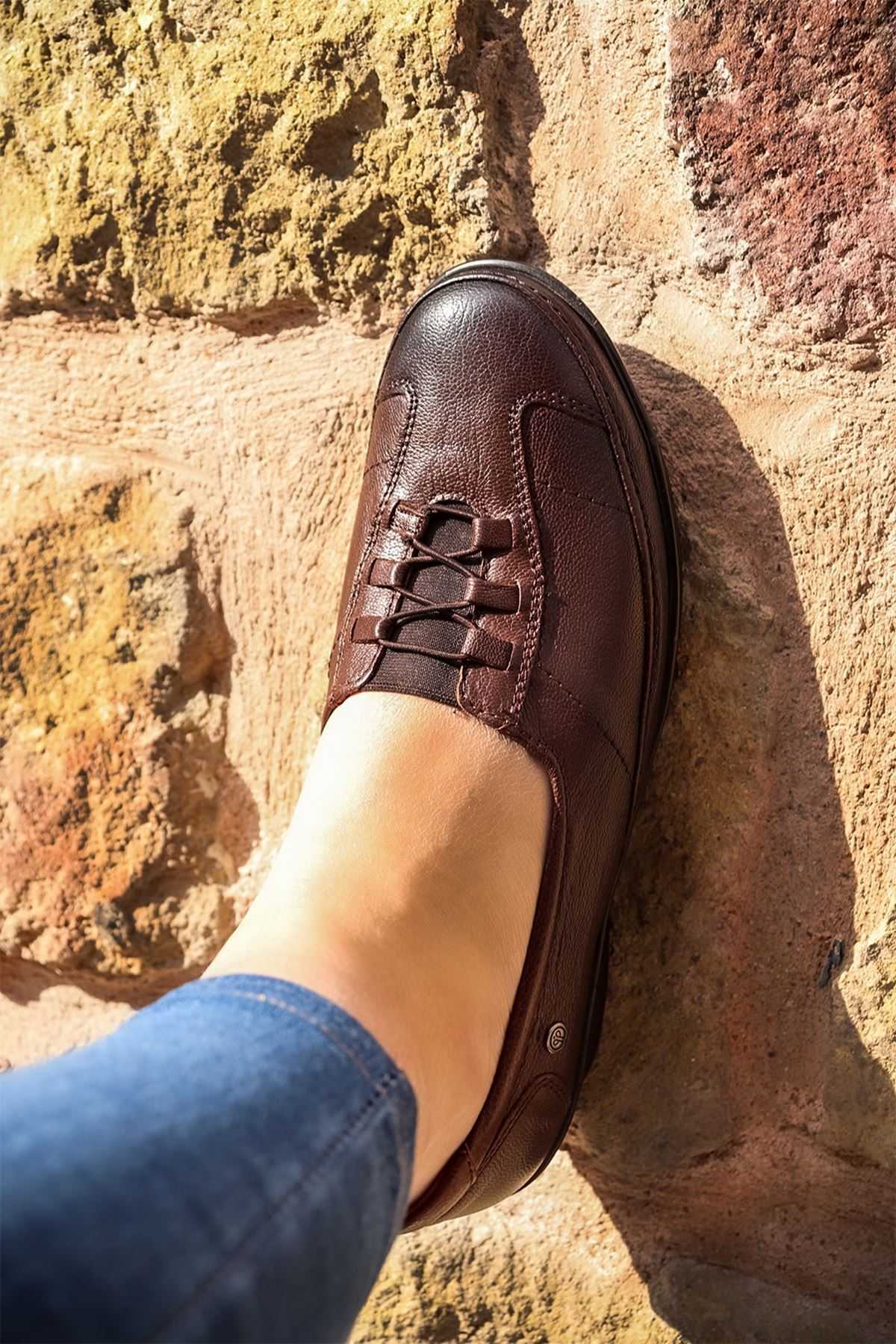 Forelli - 26217 Kahve Ortopedik Kadın Ayakkabısı