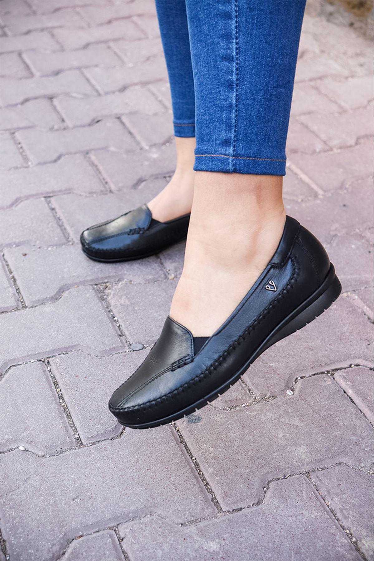 Forelli - 51306 Siyah Kadın Ayakkabısı