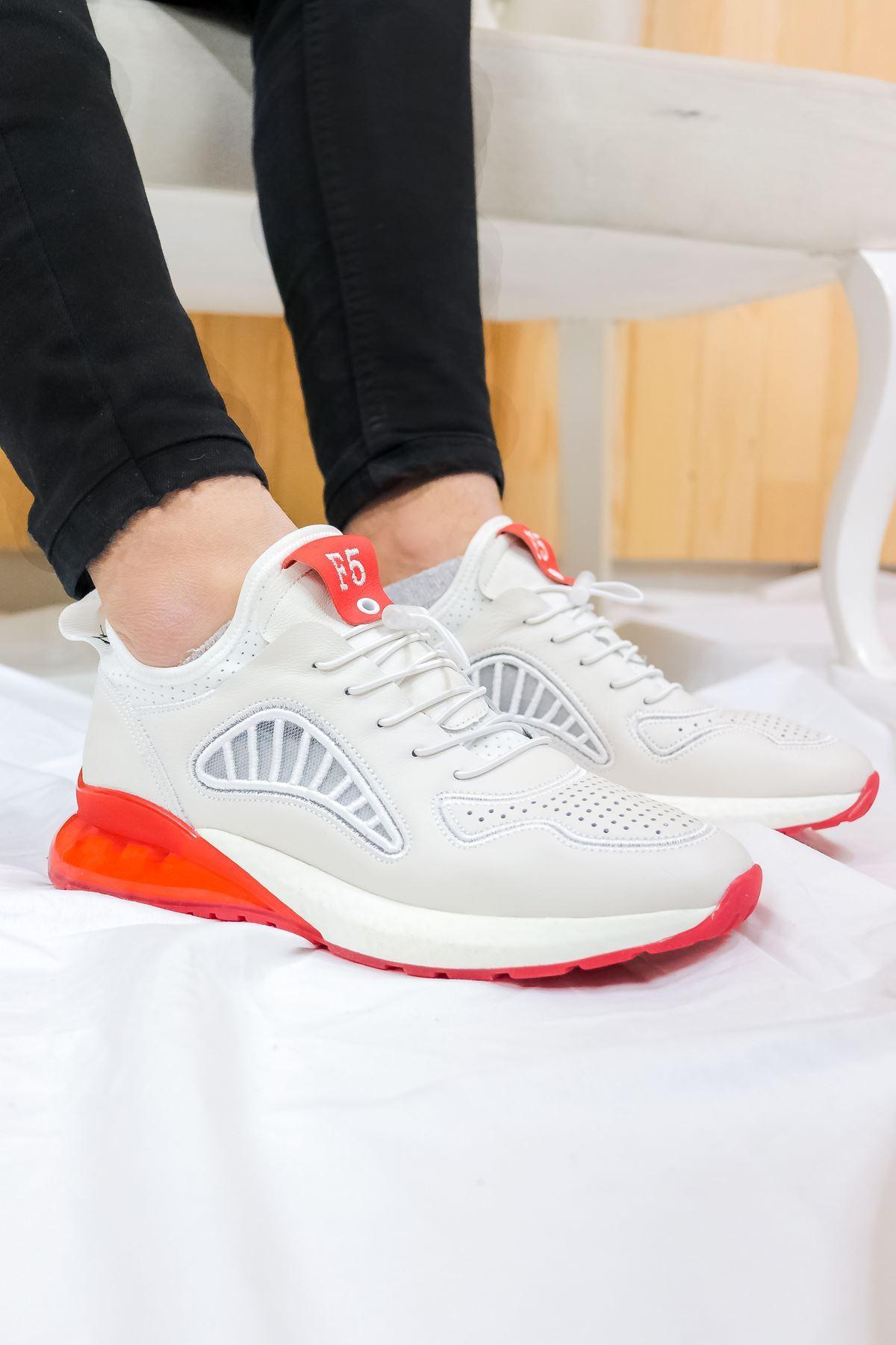 Guja - Erkek Beyaz Spor ayakkabısı
