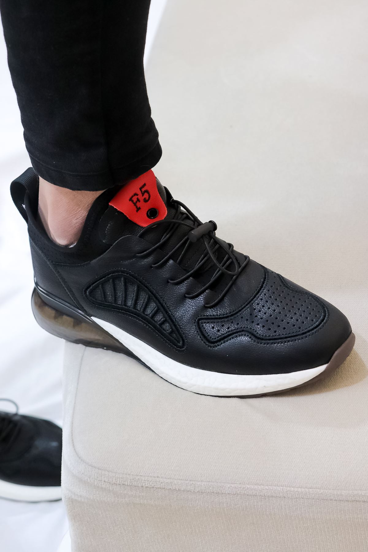 Guja - Erkek Siyah Spor ayakkabısı