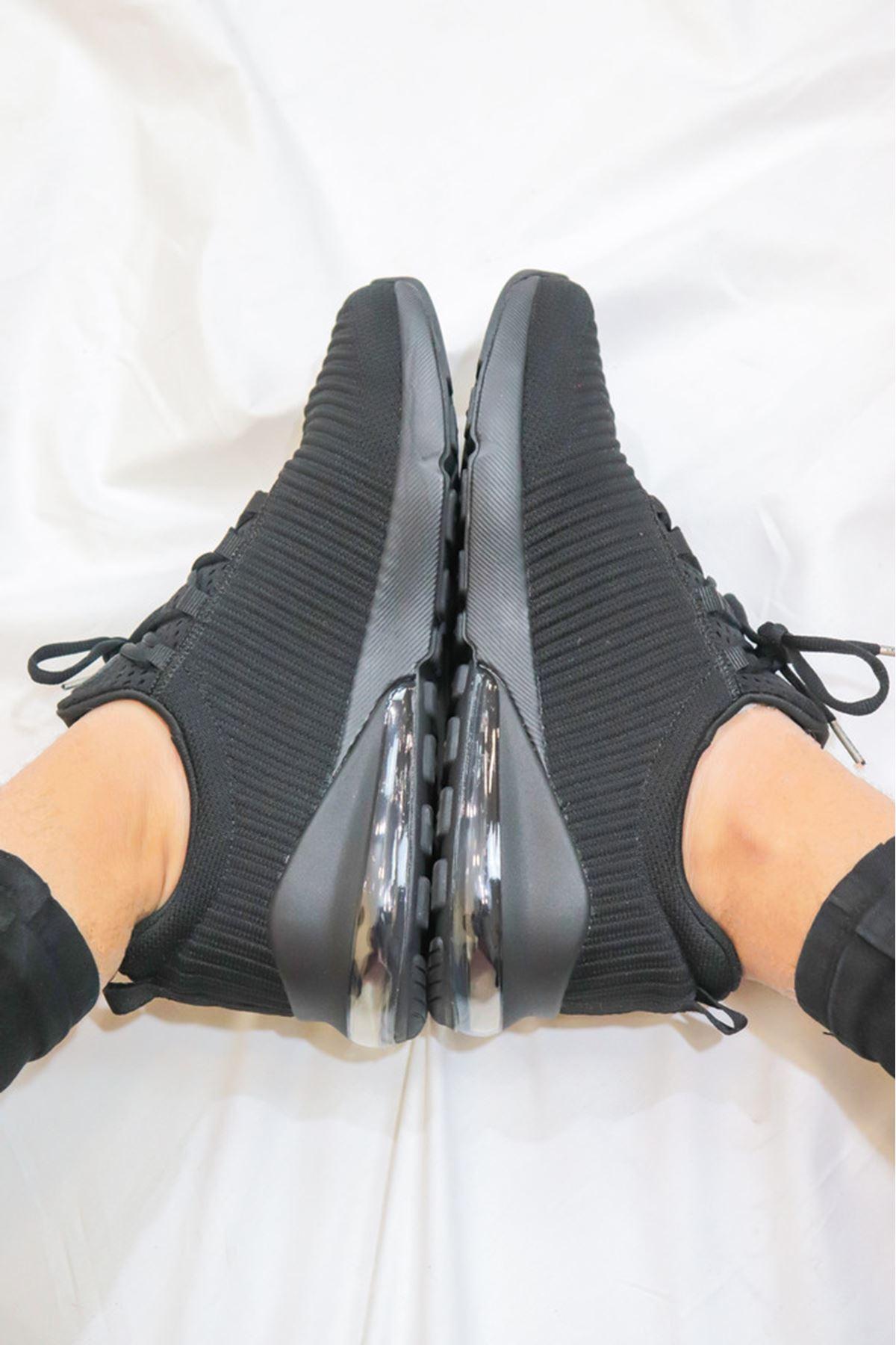 LESCON - Airtube Volt2 Siyah Erkek Spor Ayakkabısı