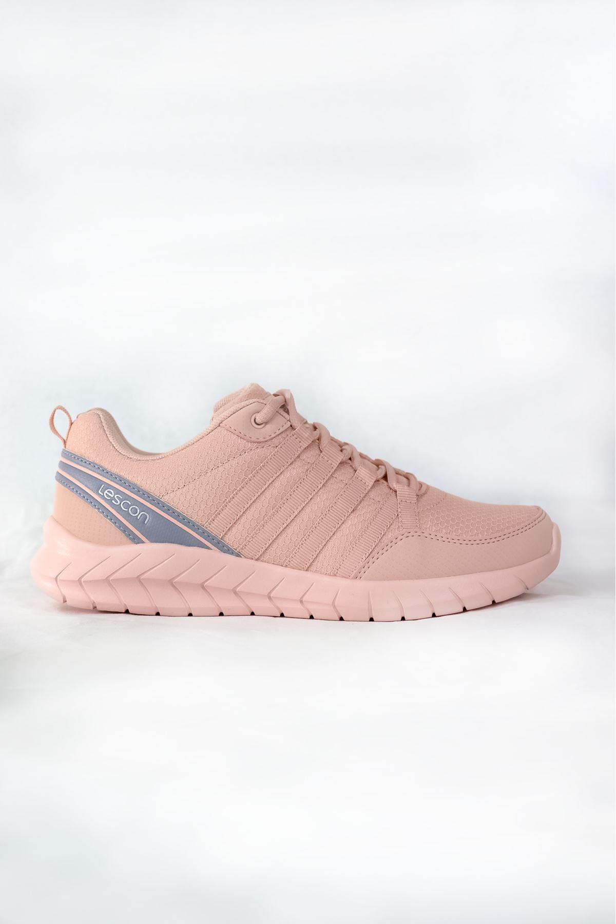 Lescon - Flex Legend-2 Pudra Spor Kadın Ayakkabısı