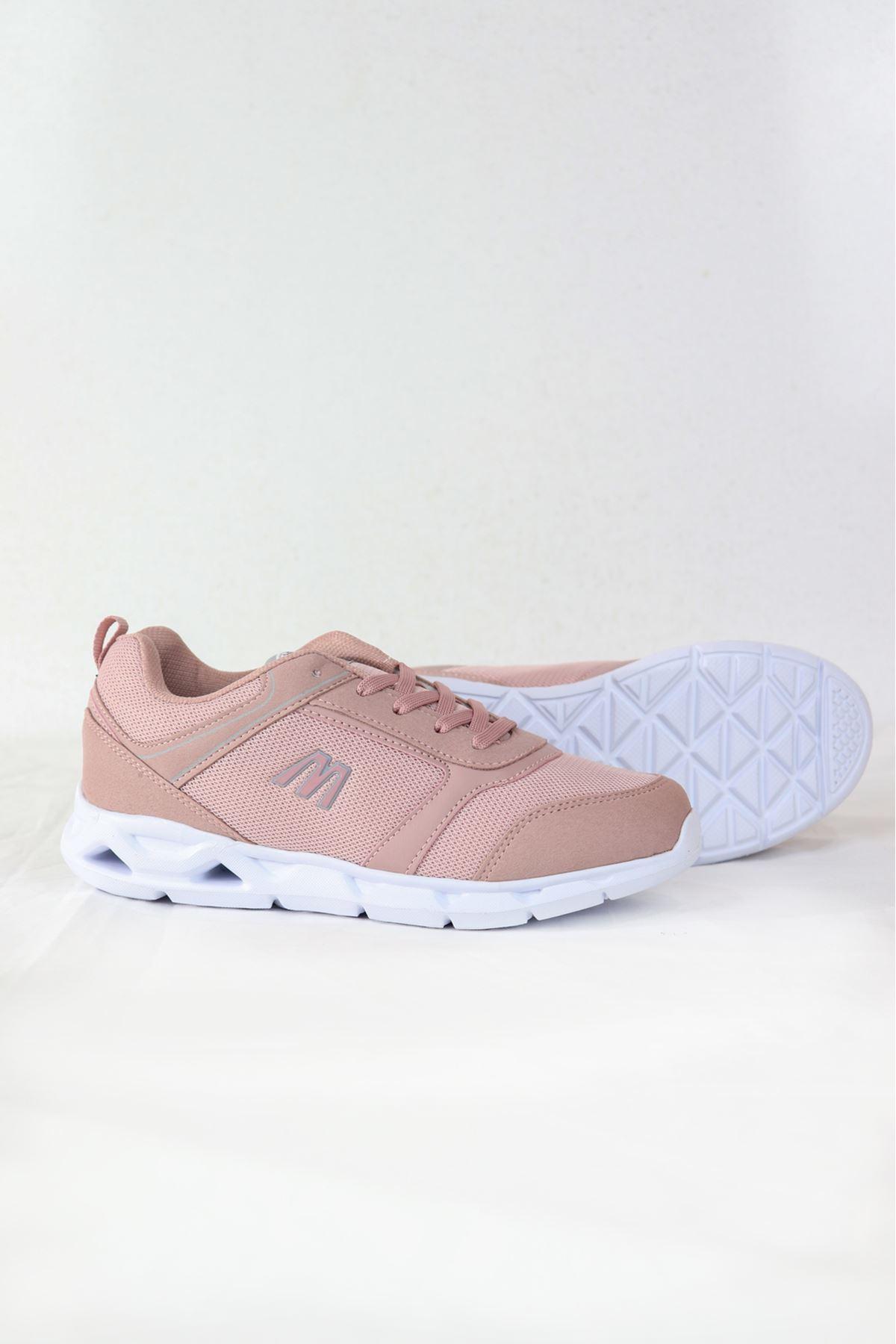 MP - 201 - 7404ZN - Pudra Kadın Spor Ayakkabısı