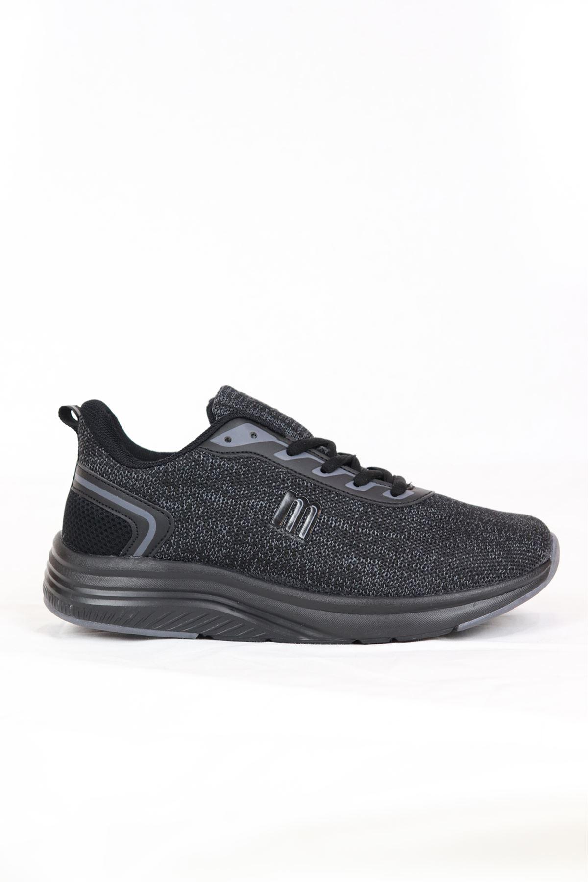 MP - 211 - 1824ZN - Siyah kadın Spor Ayakkabı