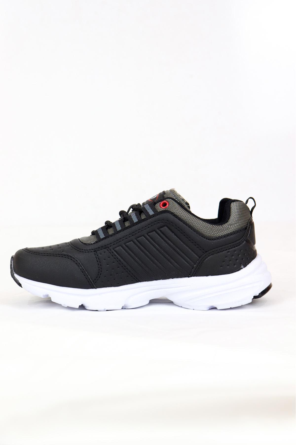 MP - 202 -1414ZN Siyah/Beyaz kadın Spor Ayakkabısı