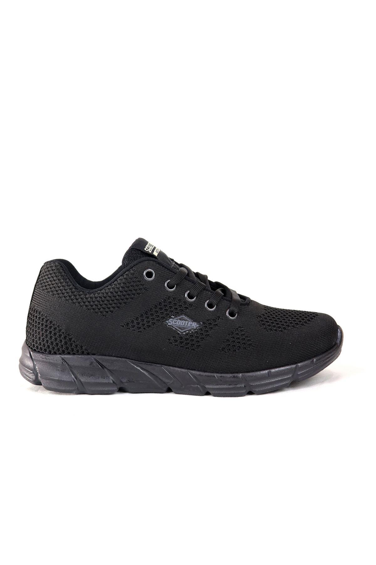 SCOOTER - Genlight- Siyah Kadın Spor Ayakkabısı