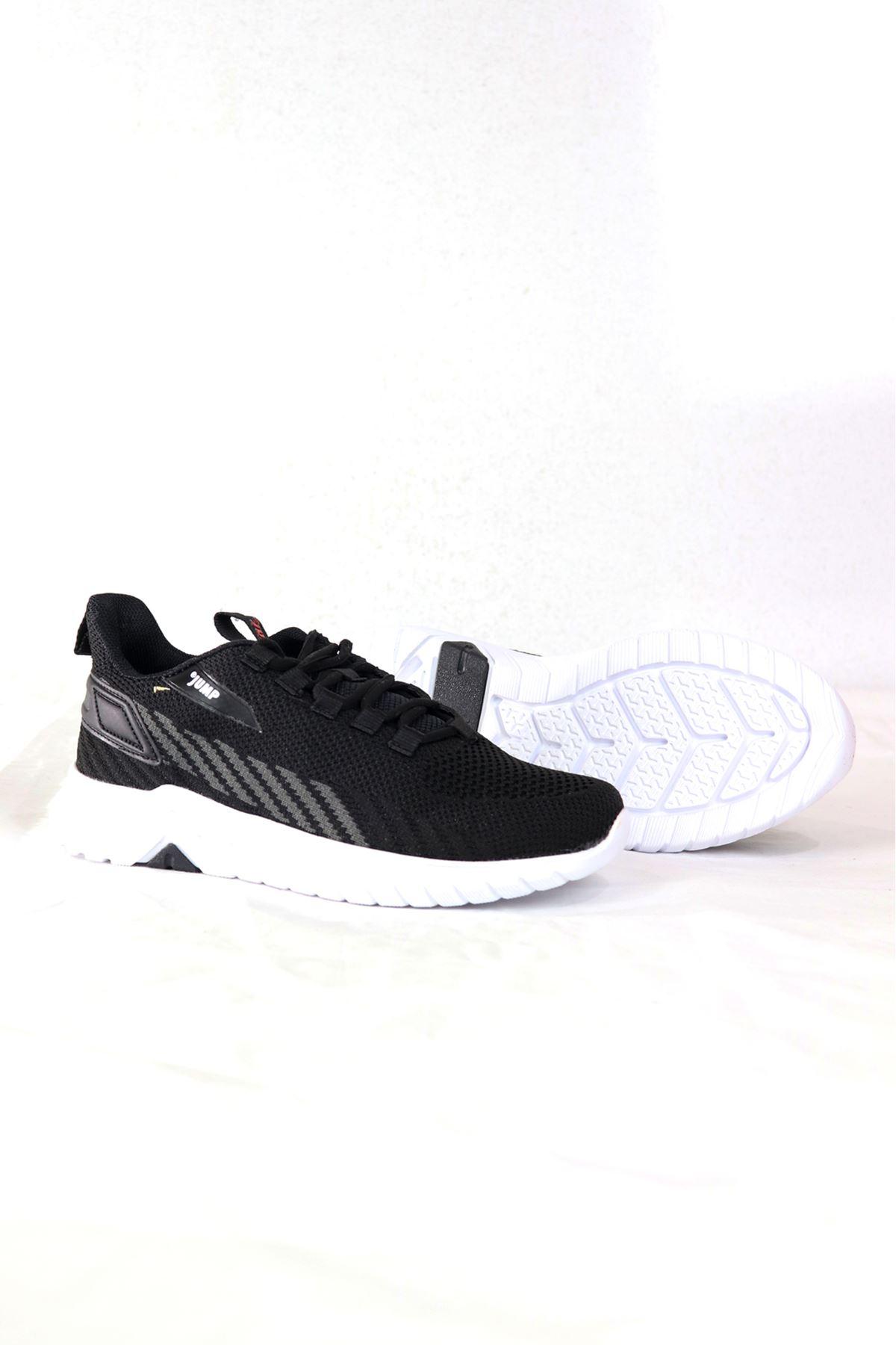 Jump - 26441 - Siyah/Gri Kadın Spor Ayakkabısı
