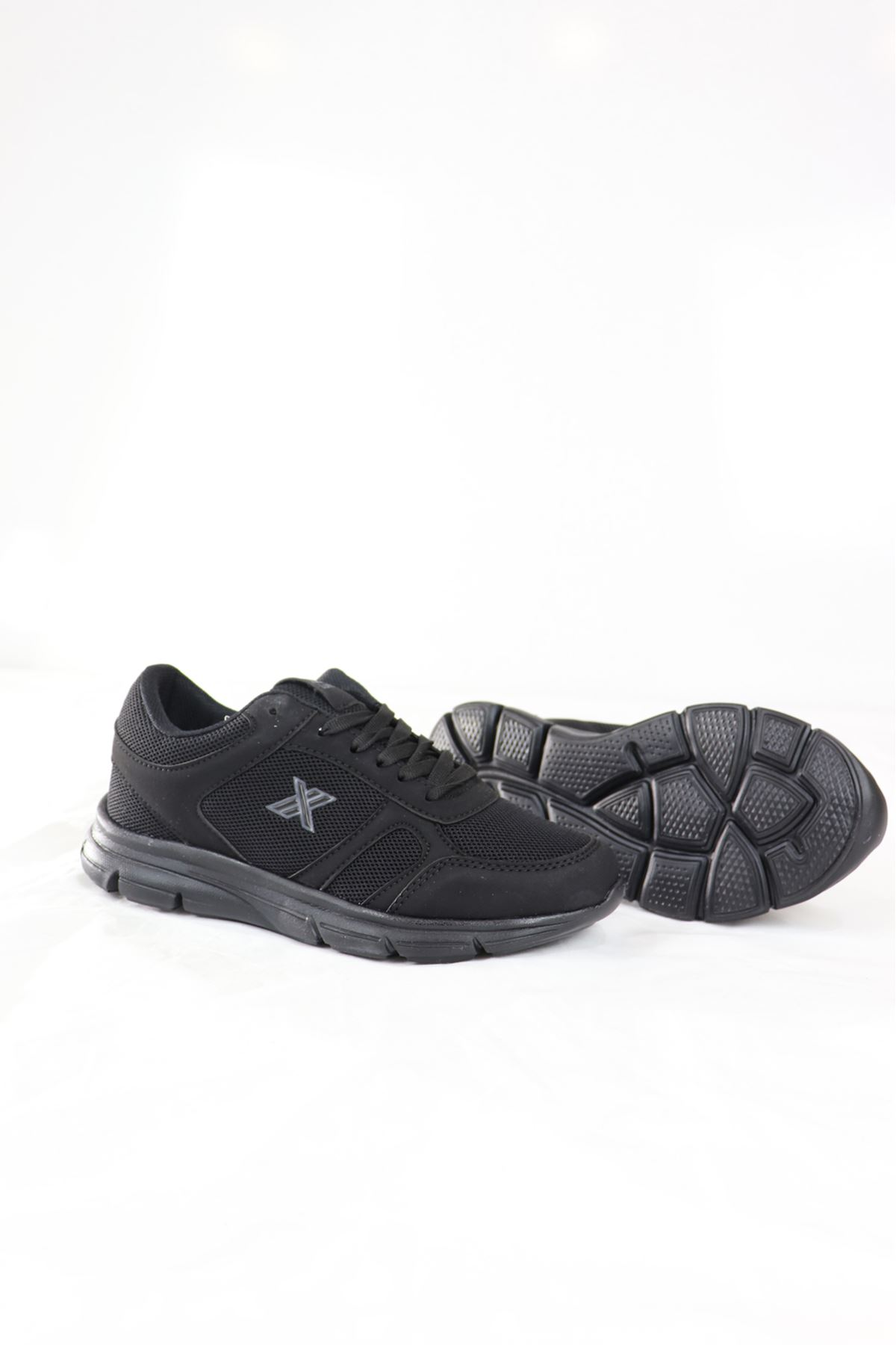 Trendayakkabı - 203 - Siyah füme Kadın Spor Ayakkabısı