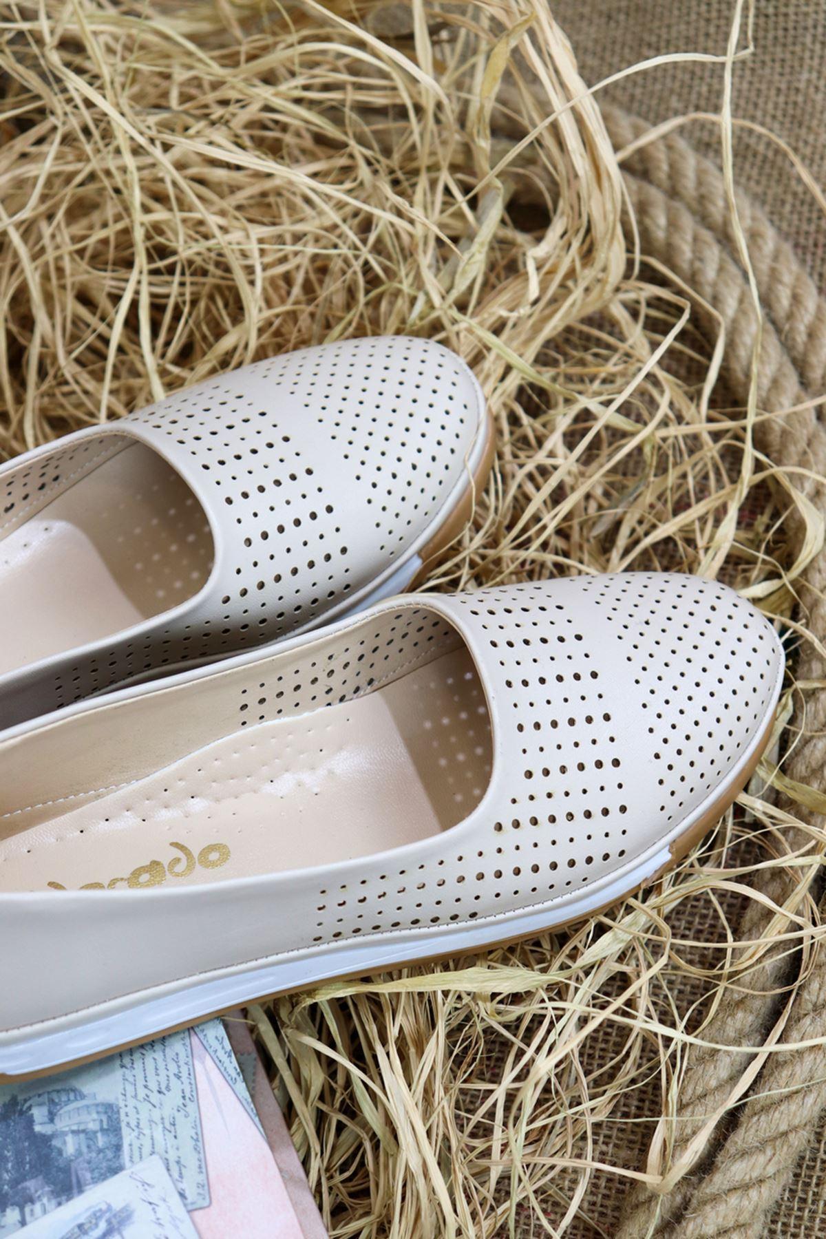 Trendayakkabı - Ten Ortopedik Deri Ayakkabı