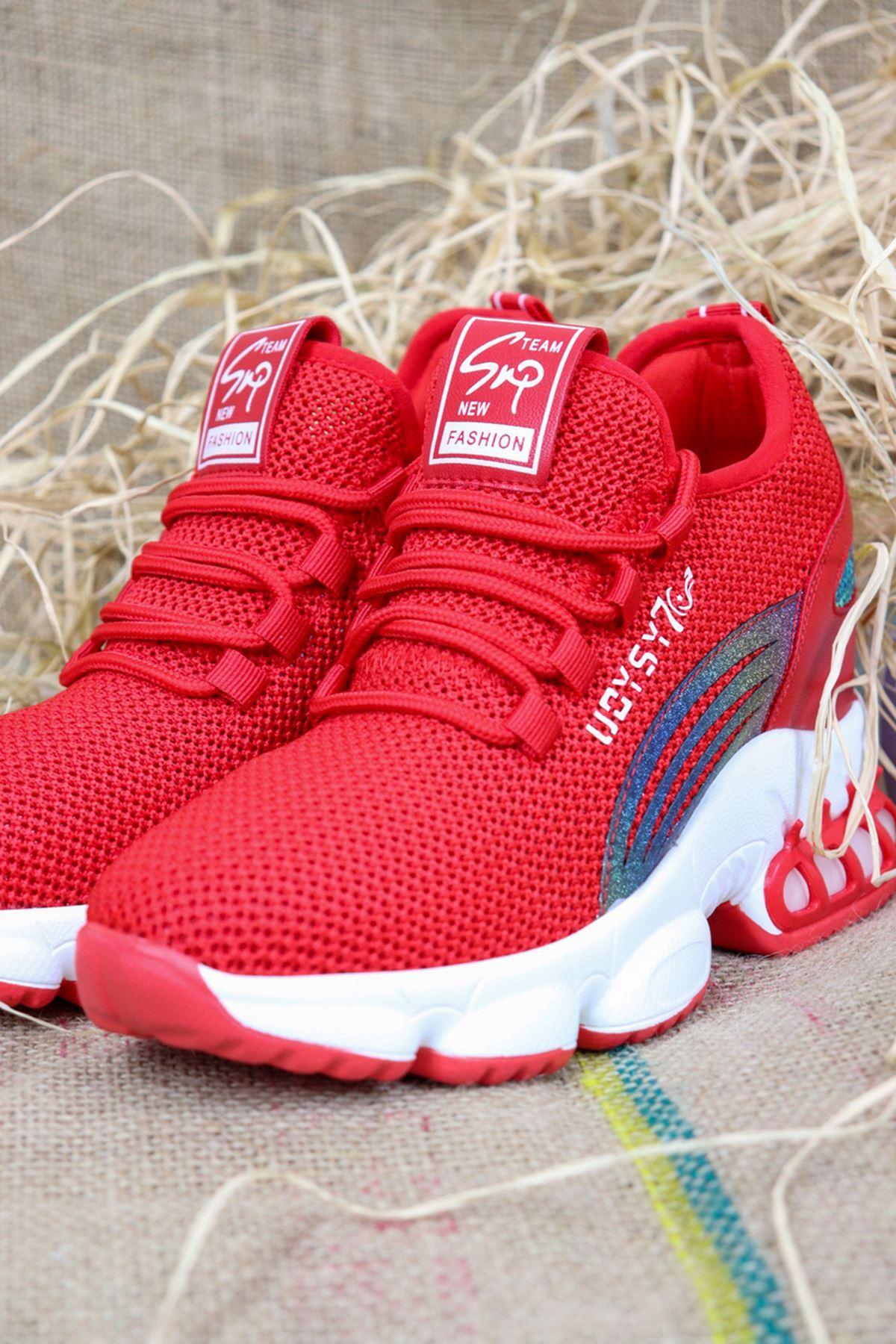 Guja - 21Y310-2 Kırmızı Kadın Spor Ayakkabısı