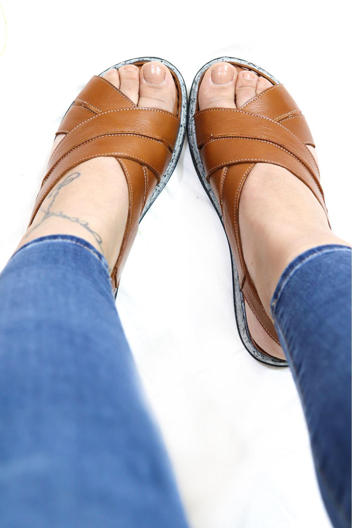 Mammamia - D21YS 1370 Taba Sandalet