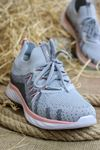 Forelli - NİL-68137 Buz Gri Ortopedik Kadın Spor Ayakkabısı